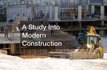 modern house wall construction